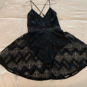Sexy Black Tobi Skater Dress NWT Size M
